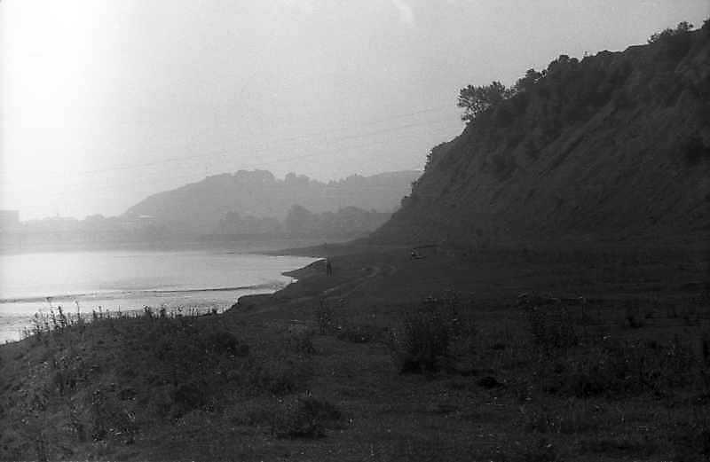 1993 р. Вид Дністра і замкової гори в…