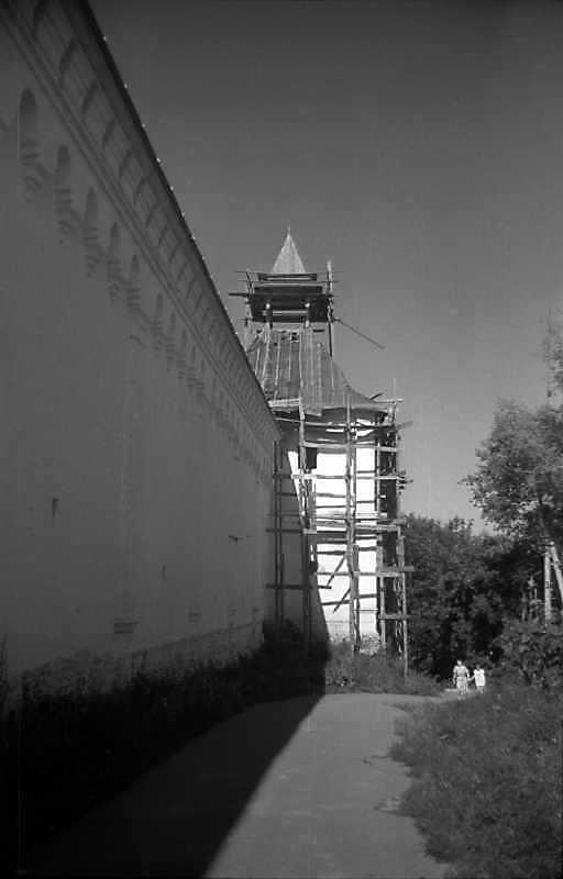 1993 р. Східна башта. Вигляд з…