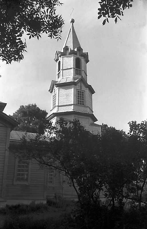 1993 р. Дзвіниця. Вигляд з півночі