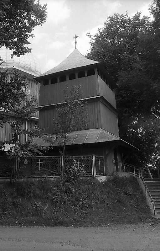 1994 р. Дзвіниця. Вигляд з позиції А3