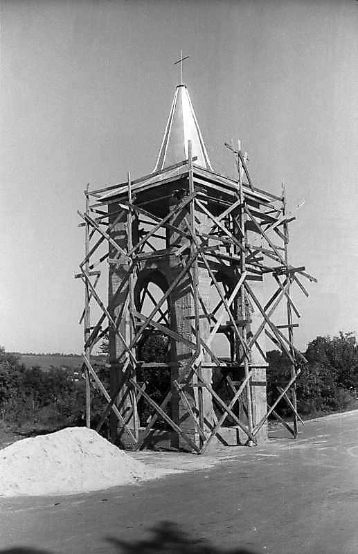 1995 р. Дзвіниця. Вигляд з позиції А1