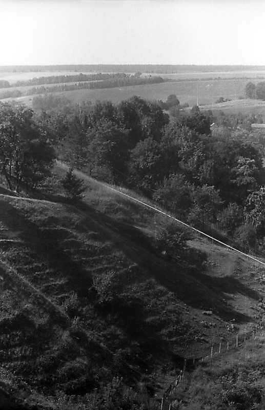 1995 р. Схил замкової гори
