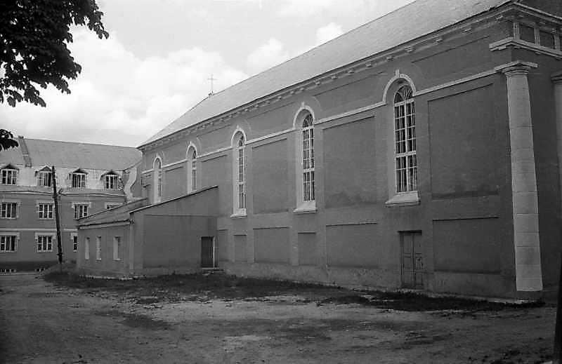 1995 р. Бічний фасад. Вигляд з позиції А4