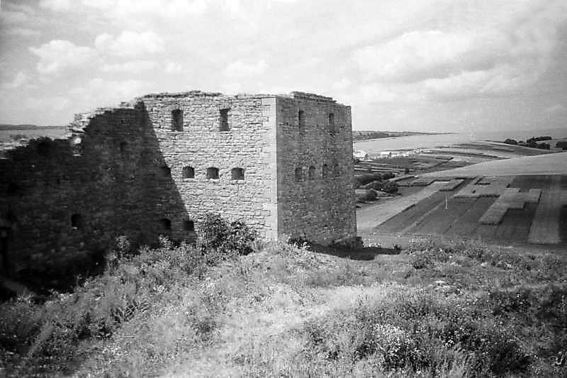 1995 р. Північна башта. Вигляд зі сходу