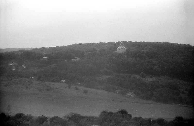 1995 р. Вид на монастир у Сатанівській…