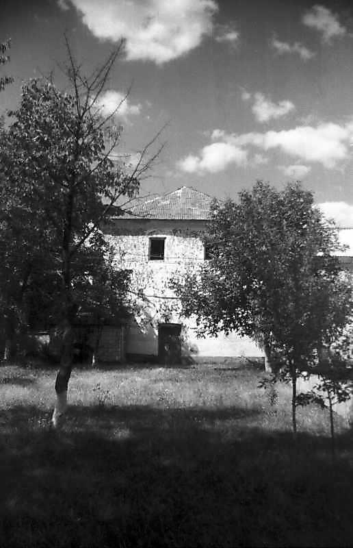 1995 р. Надбрамна башта замку. Вигляд із заходу