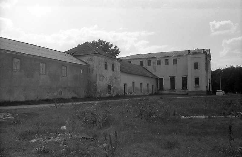 1995 р. Східне крило. Вигляд з південного сходу