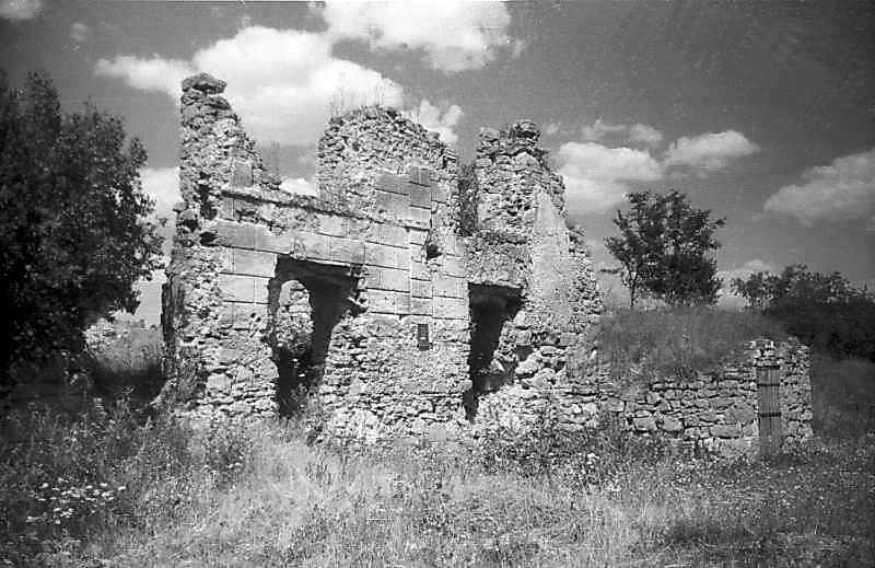 1995 р. Фрагмент західного фасаду. Вигляд з північного заходу