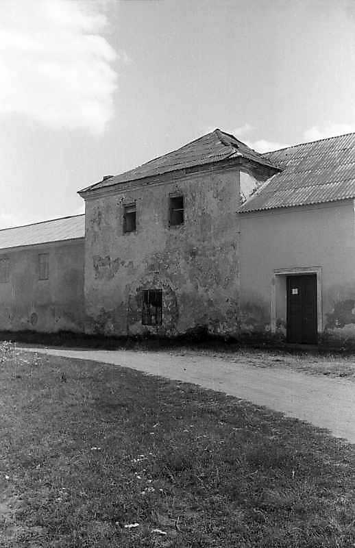 1995 р. Надбрамна башта замку. Вигляд…