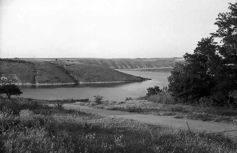 1995 р. Вид на гирло річки Мукша