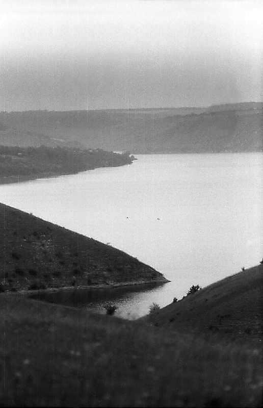 1995 р. Вид водосховища з мису…