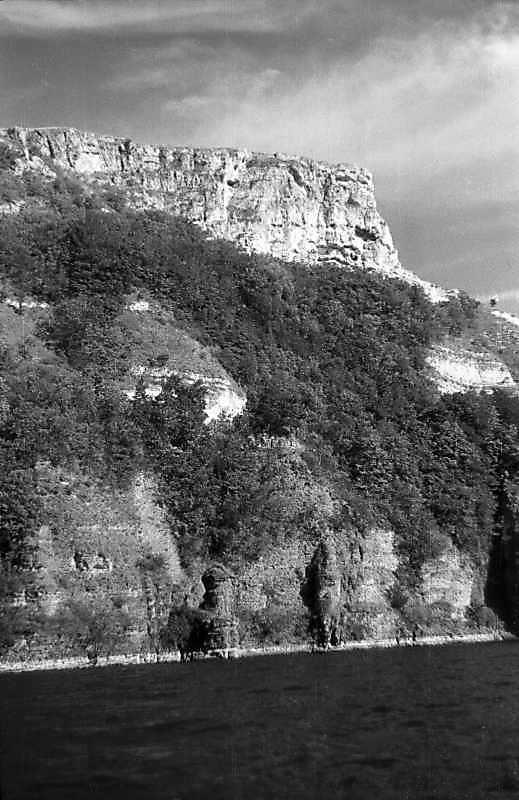 1995 р. Гора з Бакотським монастирем. Вигляд з північного заходу