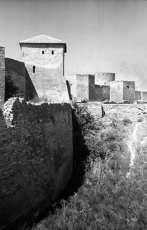 1995 р. Центральна частина східного фронту з баштами 1, 32, 27, 31. Вигляд з півдня