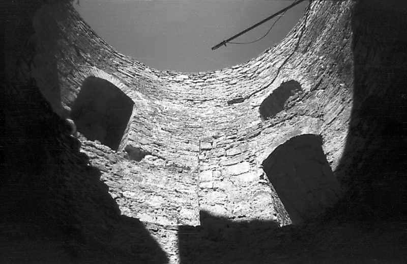 The interior of the southeast tower of…