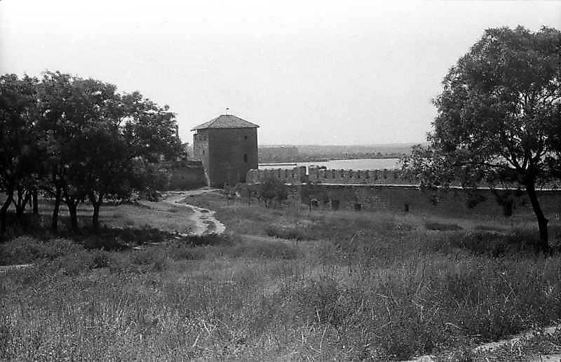 1995 р. Західна частина північного фронту з баштами 15, 16. Вигляд зі сходу
