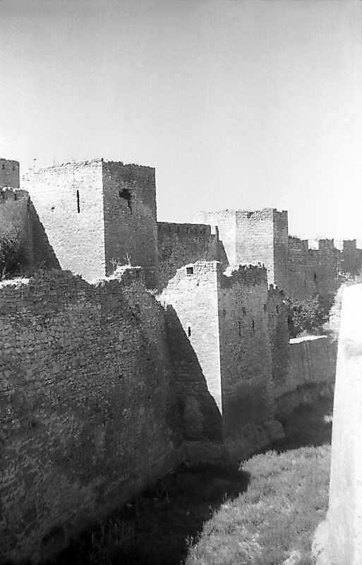 1995 р. Башти 31, 30. Вигляд з півдня, з моста через рів