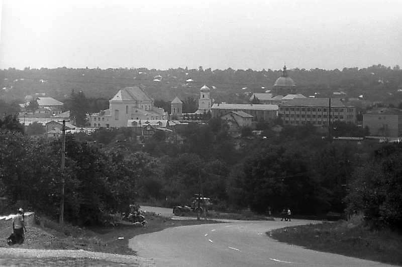 1996 р. Панорама міста зі сходу