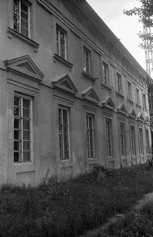 1996 р. Фрагмент тилового фасаду.…