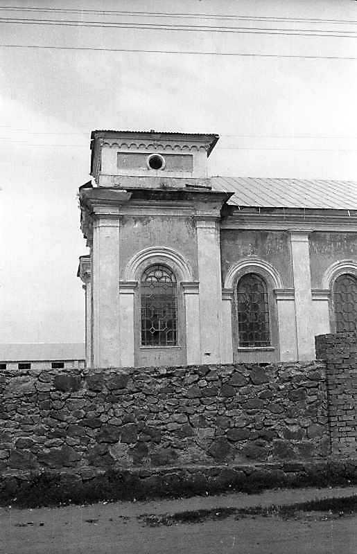 1996 р. Фрагмент бічого фасаду. Вигляд з позиції С2