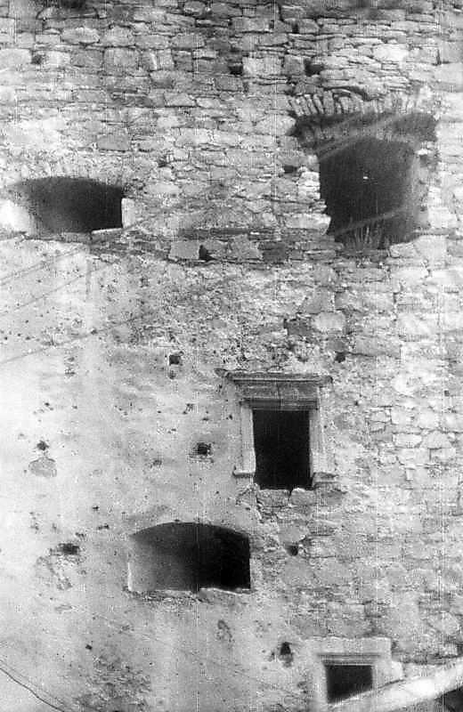 Бійниці південно-західної стіни. Вигляд з південного заходу