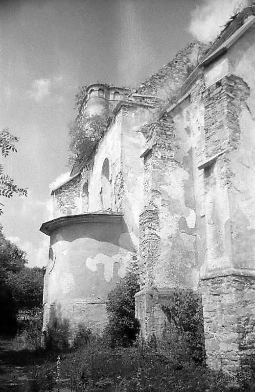 1996 р. Бічний фасад. Вигляд з позиції…