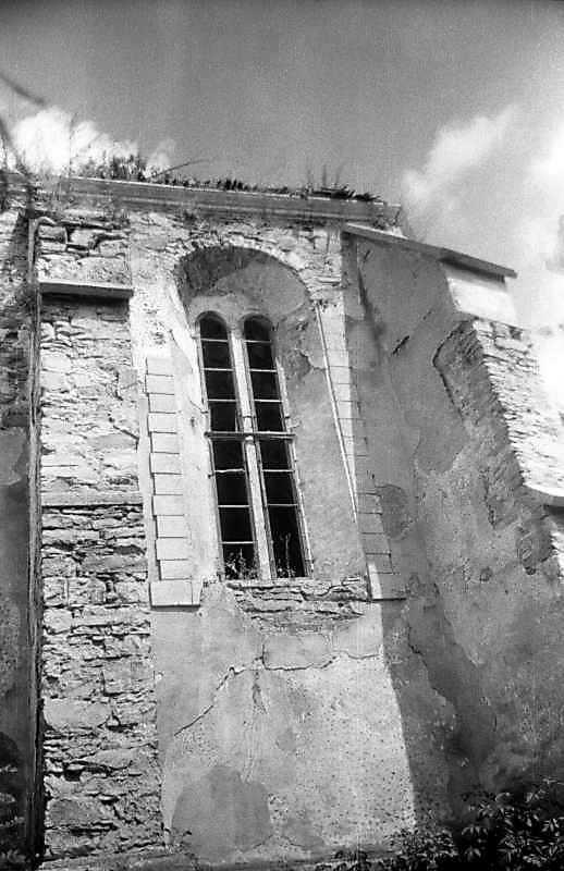 1996 р. Бічна стіна вівтаря. Вигляд з позиції С2