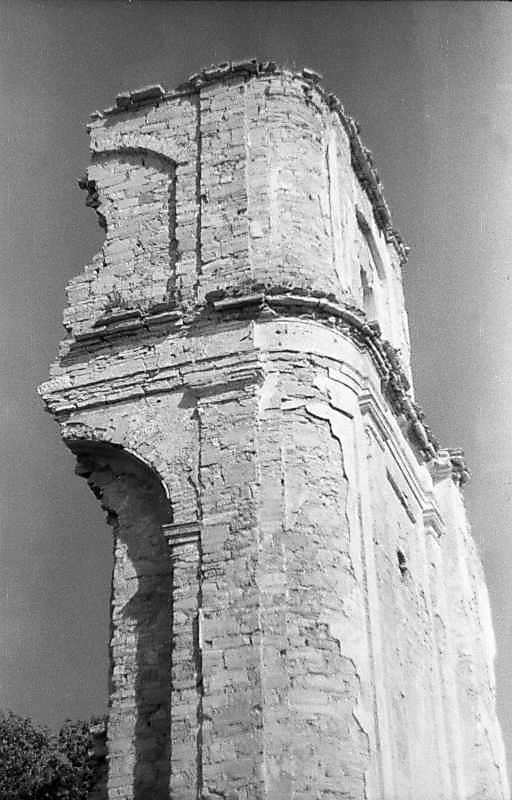 Фрагмент західної стіни. Вигляд з північного заходу