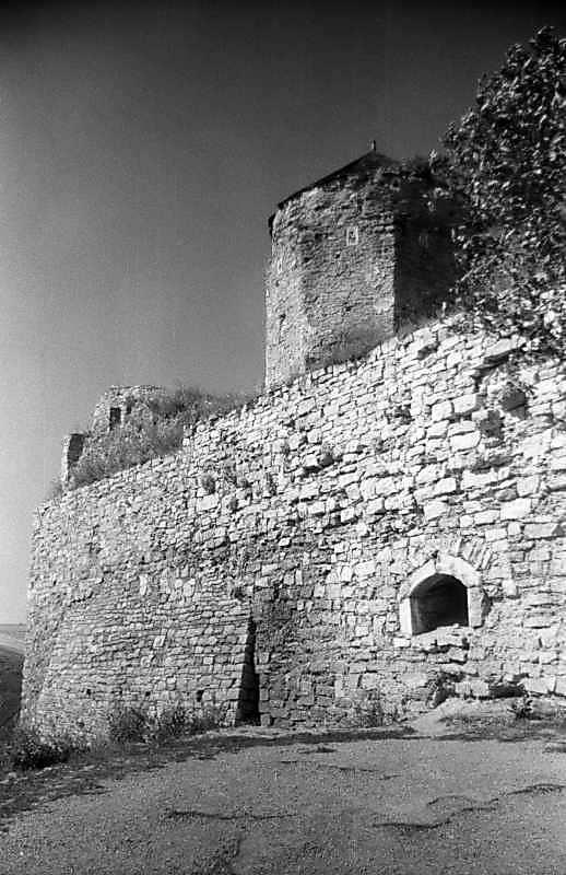 1996 р. Південне прясло східної стіни. Вигляд з північного сходу