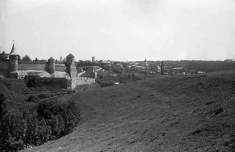 Старий замок і фрагмент міста