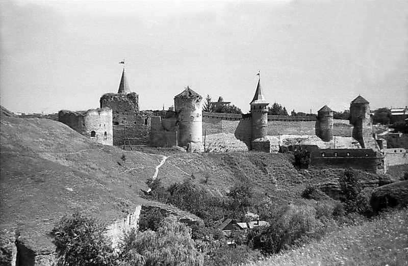 Замок. Вигляд з південного заходу