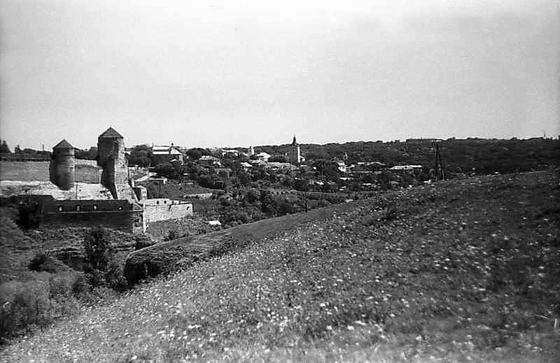 Замок і частина міста. Вигляд з…