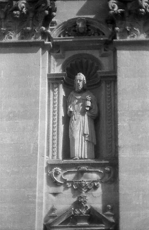 Ніша з фігурою апостола Петра