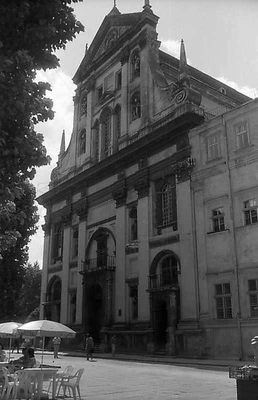 1997 р. Головний фасад. Вигляд з…