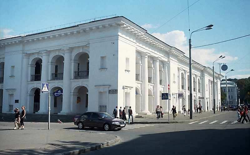 2001 р. Західний фасад. Вигляд з північного заходу