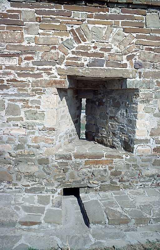 2001 р. Бійниця біля башти № 5. Вигляд…