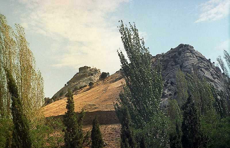 2001 р. Верх Фортечної гори. Вигляд із заходу