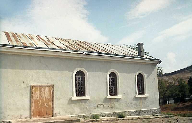 2001 р. Бічний фасад. Вигляд з позиції А3
