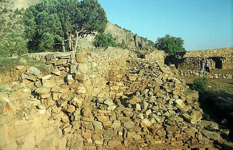 2002 р. Східнаий мур. Вигляд з півночі