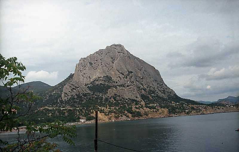 2002 р. Гора Сокіл. Вигляд з південного заходу