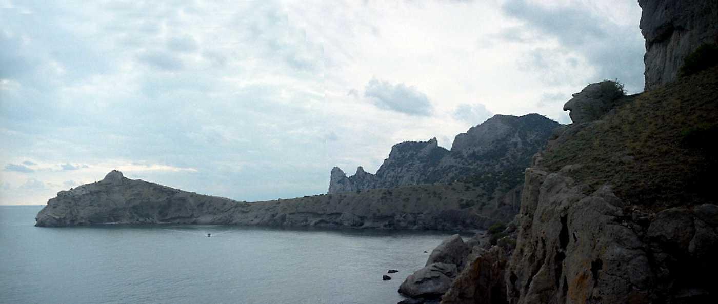 2002 р. Панорама мису Капчик і бухти. Вигляд з північного сходу