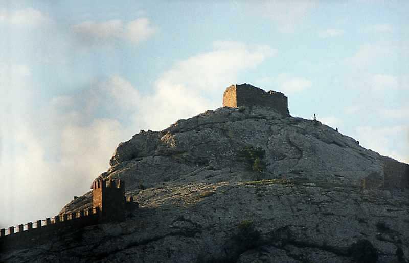 2002 р. Верх Фортечної гори. Вигляд з півночі