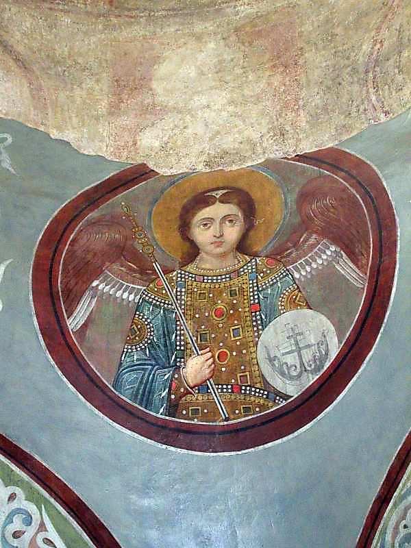 Ангел 6 у медальйоні (на парусі)