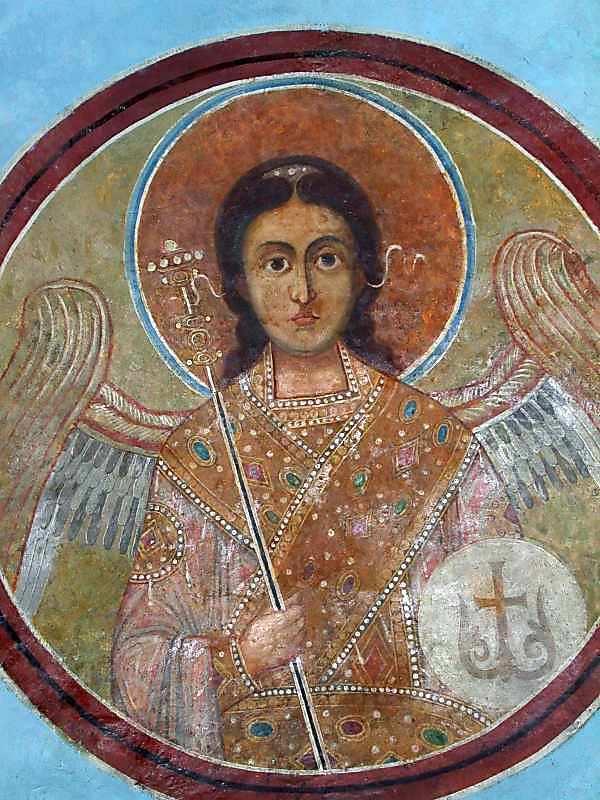 Ангел 5 у медальйоні (на південно-східному боці склепіння)