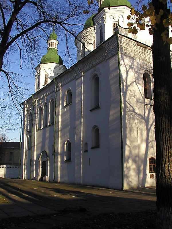 2004 р. Північна стіна церкви. Вигляд…