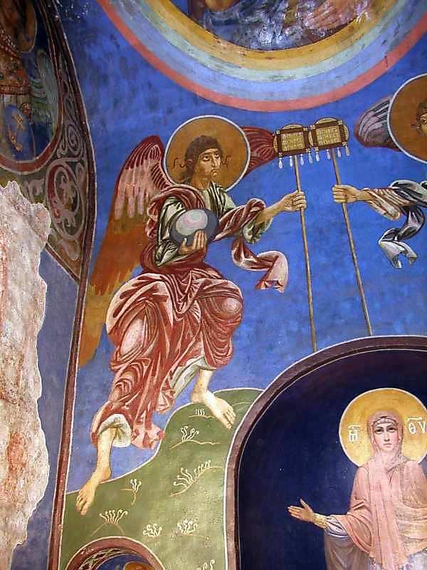 2004 р. Лівий ангел (східна стіна)