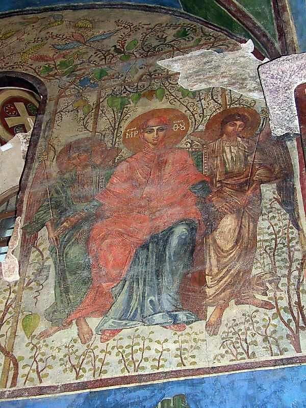 2004 р. Рай (розпис північної стіни на…