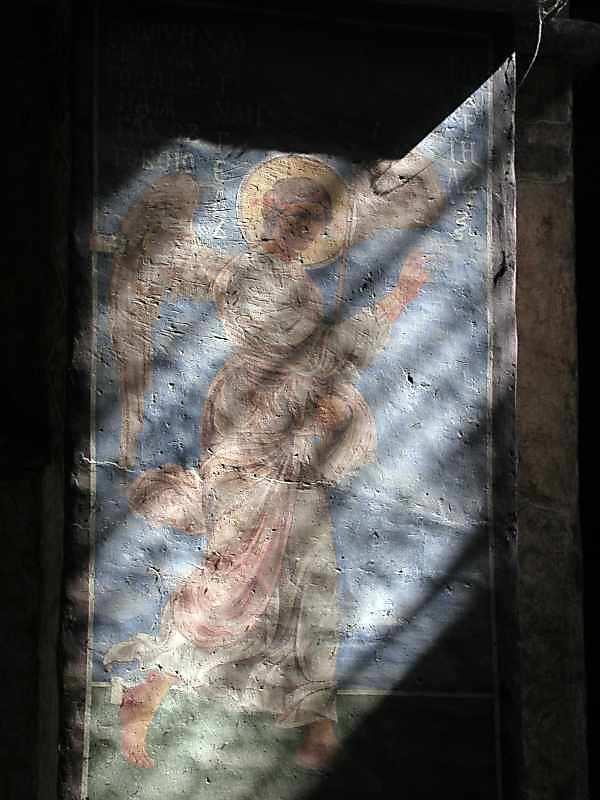 2005 р. Архангел Гавриїл. Розпис північно-східного стовпа