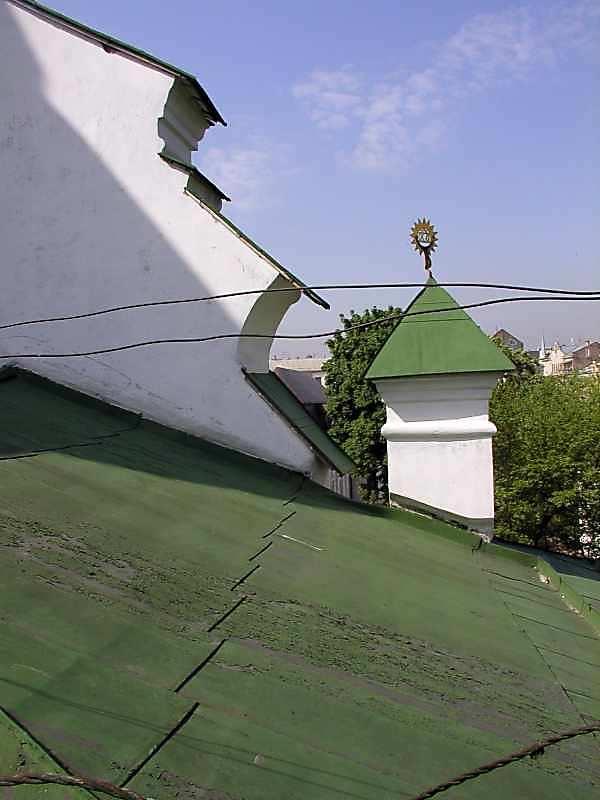 2005 р. Фрагмент західного фронтону.…