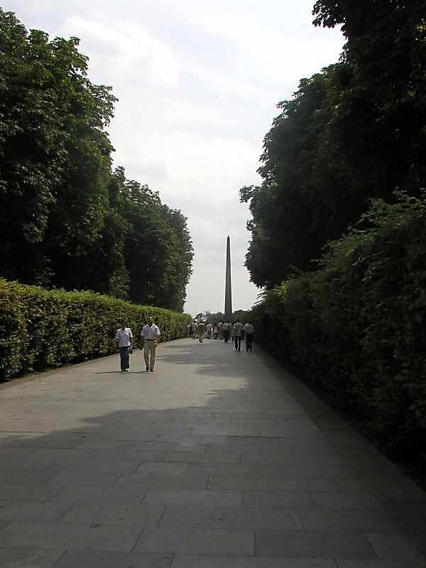 2005 р. Перспектива головної алеї
