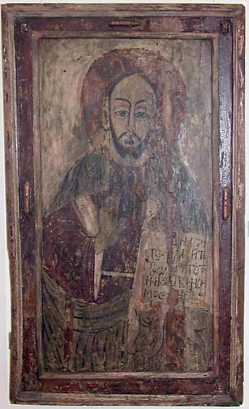 Христос ієрей. 18 ст. Дерево, темпера